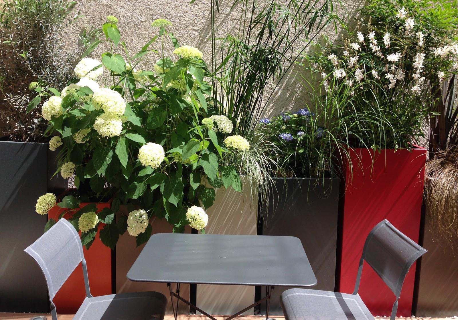 Image 39 in bacs plante en lin aire jardin balcon - Jardin contemporain design saint denis ...