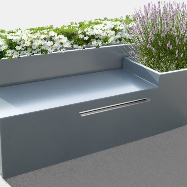 image 39 in fontaine cascade lame d 39 eau avec jardini re. Black Bedroom Furniture Sets. Home Design Ideas