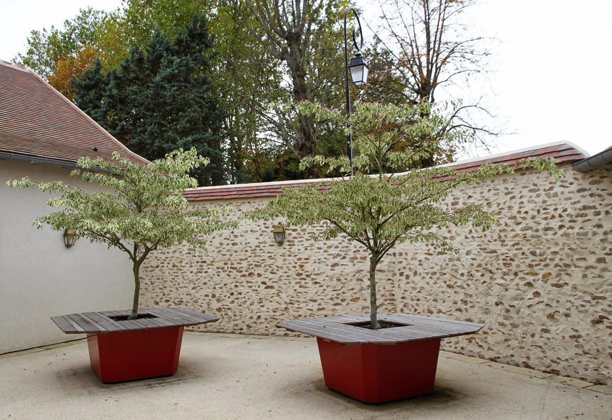 Bac à arbre et table de Jardin en Bois IMAGE\'IN by ATELIER SO GREEN