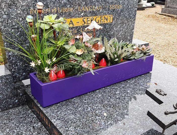 Jardinière funéraire IMAGE'IN - Pots durables pour tombe